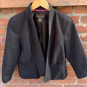 Fenn Wright Manson black 100% cotton jacket